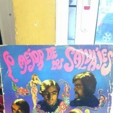 Discos de vinilo: LOS SALVAJES / LO MEJOR DE LOS SALVAJES / REGAL 1967. Lote 55887924