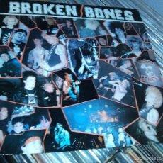 Discos de vinilo: BROKEN BONES - NEVER SAY DIE - 3 TRACKS MAXI . Lote 55888339