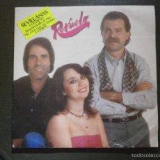 Discos de vinilo: DISCO VINILO - SINGLE - REVUELO - SEVILLANAS - MOVIE PLAY - 1982. Lote 55902698