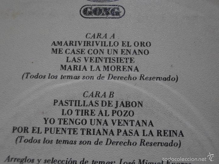 Discos de vinilo: DISCO VINILO - SINGLE - REVUELO - SEVILLANAS - MOVIE PLAY - 1982 - Foto 3 - 55902698