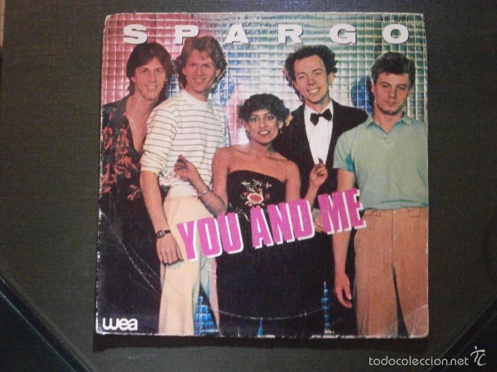 Discos de vinilo: DISCO VINILO - SINGLE - SPARGO - YOU AND ME -WEA - HISPAVOX - 1971 - Foto 1 - 55903129