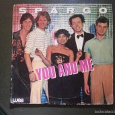 Discos de vinilo: DISCO VINILO - SINGLE - SPARGO - YOU AND ME -WEA - HISPAVOX - 1971. Lote 55903129