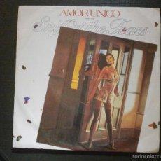 Discos de vinilo: DISCO VINILO - SINGLE - SNIFF N THE TEARS - AMOR UNICO (ONE LOVE) / FIVE AND ZERO- MOVIE PLAY - 1980. Lote 55903876