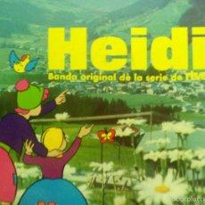 Discos de vinilo: LP HEIDI BANDA SONORA DE LA SERIE DE TV. Lote 55907833