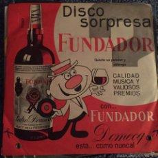 Discos de vinilo: DISCO SORPRESA FUNDADOR. Lote 55919024
