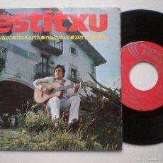 Discos de vinilo: ESTITXU - BAKARIK + 3 - EP MOVIEPLAY 1970. Lote 55924369