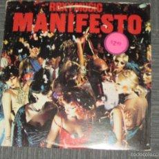 Discos de vinilo: ROXY MUSIC - MANIFESTO - ATCO - MADE IN USA - 1979 - IBL -. Lote 55927394