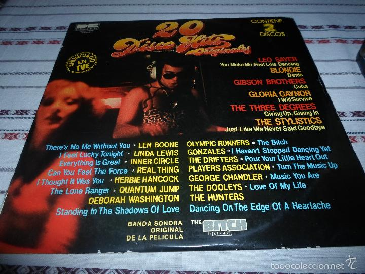 20 DISCO HITS ORIGINALES DOBLE LP (Música - Discos - LP Vinilo - Disco y Dance)
