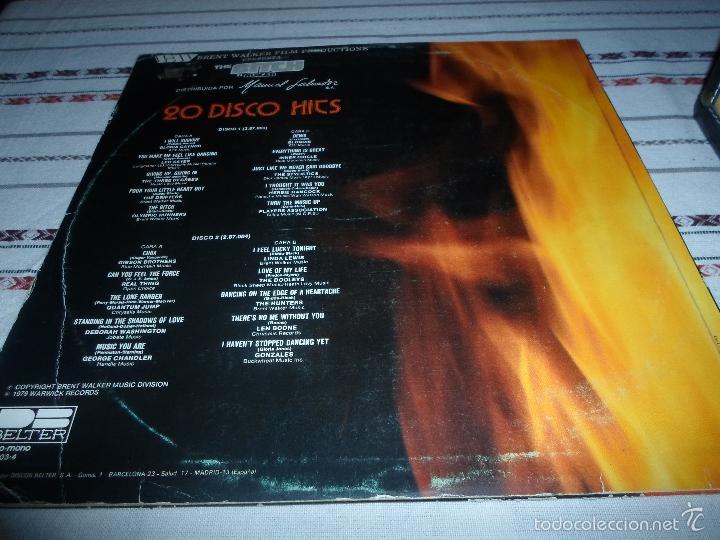 Discos de vinilo: 20 DISCO HITS ORIGINALES DOBLE LP - Foto 3 - 55927533