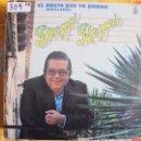 Discos de vinilo: LP - SEVILLANAS Y RUMBAS - DIEGO REYES - EL ROCIO QUE YO QUIERO. Lote 55931549
