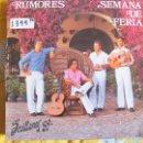 Discos de vinilo: LP - SEVILLANAS Y RUMBAS - RUMORES - SEMANA DE FERIA. Lote 55931953