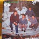 Discos de vinilo: LP - SEVILLANAS Y RUMBAS - CAMINANTES - CON SENTIMIENTO. Lote 55932538