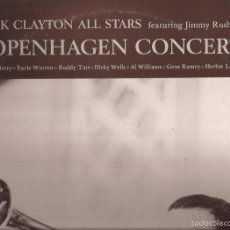 Discos de vinilo: LP-BUCK CLAYTON COPENHAGEN CONCERT FEAT. JIMMY RUSHING EDIGSA 09A0178 SPAIN 1981 DOBLE LP JAZZ. Lote 55932803