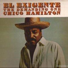 Discos de vinilo: LP-CHICO HAMILTON EL EXIGENTE PHILIPS 63 69 405 SPAIN 1972 LATIN JAZZ. Lote 55932975