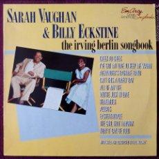 Discos de vinilo: SARA VAUGHAN & BILLY ECKSTINE, THE IRVING BERLIN SONGBOOK (EMARCY) LP HOLANDA. Lote 55933611