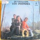 Discos de vinilo: LP - SEVILLANAS Y RUMBAS - LOS DUENDES - DE FIESTA. Lote 55934151