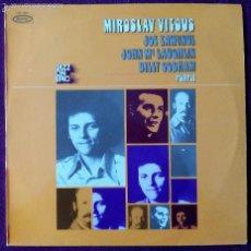 Discos de vinilo: MIROSLAV VITOUS, PURPLE (EPIC) LP FRANCIA - JOE ZAWINUL BILLY COBHAM JOHN MCLAUGHLIN. Lote 55934279