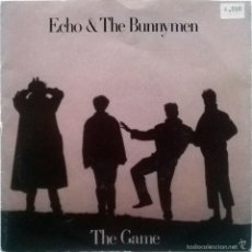 Discos de vinilo: ECHO & THE BUNNYMEN. THE GAME/ LOST AND FOUND. WEA, SPAIN 1987 (SINGLE PROMOCIONAL). Lote 55937155