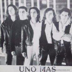 Discos de vinilo: ALTA LUNA - UNO MAS - SINGLE PROMOCIONAL DIGIMUSIC & RECORDS DE 1992 ,RF-479. Lote 55940309