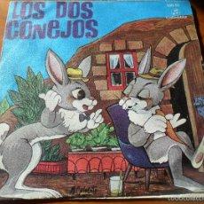Discos de vinilo: LOS DOS CONEJOS, CUENTO - 1969. Lote 55941528