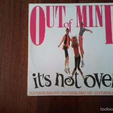 Discos de vinilo: OUT OF MIND-IT'S NO OVER FEATURING BABY PAT.MAXI. Lote 55993385