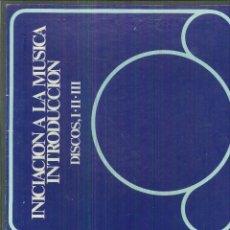 Discos de vinilo: INICIACIÓN A LA MÚSICA. ANTOLOGÍA SONORA. Lote 55993584