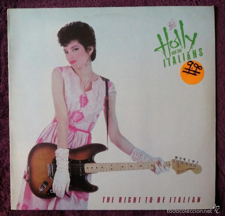 HOLLY AND THE ITALIANS, THE RIGHT TO BE ITALIAN (ARIOLA) LP BENELUX (Música - Discos - LP Vinilo - Punk - Hard Core)
