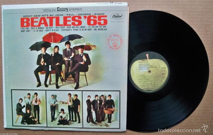 the beatles - beatles 65 !! rara edic usa apple - Comprar Discos LP ...