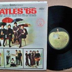 Discos de vinilo: THE BEATLES - BEATLES 65 !! RARA EDIC USA APPLE RECORDS, TODO IMPECABLE !!. Lote 55995256