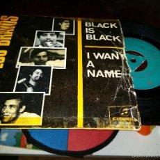 Discos de vinilo: LOS BRAVOS BLACK IS BLACK. Lote 55995382