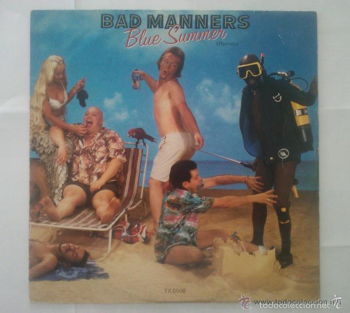 BAD MANNERS- BLUE SUMMER MAXI SINGLE SKA REGGAE TWO TONE (Música - Discos de Vinilo - Maxi Singles - Reggae - Ska)