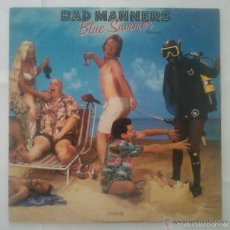 Discos de vinilo: BAD MANNERS- BLUE SUMMER MAXI SINGLE SKA REGGAE TWO TONE. Lote 55997955