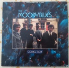 Discos de vinilo: THE MOODY BLUES COLLECTION 2XLP THE COLLECTOR SERIES R&B POP BEAT MOD ROLLING STONES BEATLES. Lote 55998132