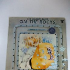 Discos de vinilo: THE BYRON BAND ON THE ROCKS MAXI . Lote 55998712