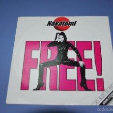 Discos de vinilo: NAKATOMI FREE. Lote 56002400