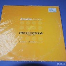 Discos de vinilo: JUSTIN JONES- HYBRID 1.0 /HYBRID 2.0. Lote 56003171