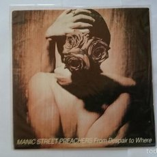 Discos de vinilo: MANIC STREET PREACHERS - FROM DESPAIR TO WHERE (PROMO 1993). Lote 56004403