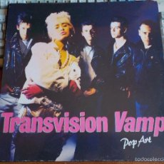 Discos de vinilo: TRANSVISION VAMP .- LP 1988 - POP ART - TRASH CITY + WILD STAR + OTRAS. Lote 56005136