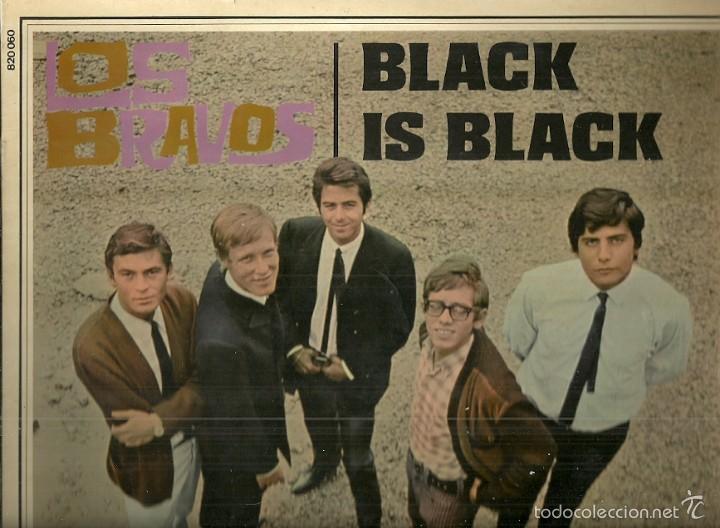 LOS BRAVOS LP SELLO BARCLAY EDITADO EN FRANCIA (Música - Discos - LP Vinilo - Grupos Españoles 50 y 60)