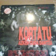 Discos de vinilo: DISCO DE VINILO DOBLE KORTATU - ASKEN GUDA DANTZA. Lote 56014363