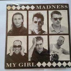 Discos de vinilo: MADNESS - MY GIRL / MADNESS (LIVE) (REEDIC. UK 1992). Lote 56016891
