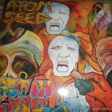 Discos de vinilo: ATOM SEED - GET IT LINE LP - ORIGINAL ALEMAN - HEAVY METAL RECORDS 1990 - MUY NUEVO (5).. Lote 56019815