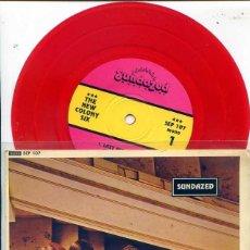 Discos de vinilo: THE NEW COLONY SIX / FOUR BY SIX (EP) EDITADO POR SUNDAZED 1993 MONO VINILO ROJO . Lote 56019878