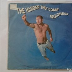 Discos de vinilo: MADNESS - THE HARDER THEY COME / TOMORROW'S JUST ANOTHER DAY / TAKE IT OR LEAVE IT (EP ALEMAN 1992). Lote 56027842