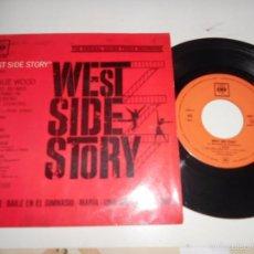 Discos de vinilo: WEST SIDE STORY-EP DEL FILM 1962. Lote 56028187