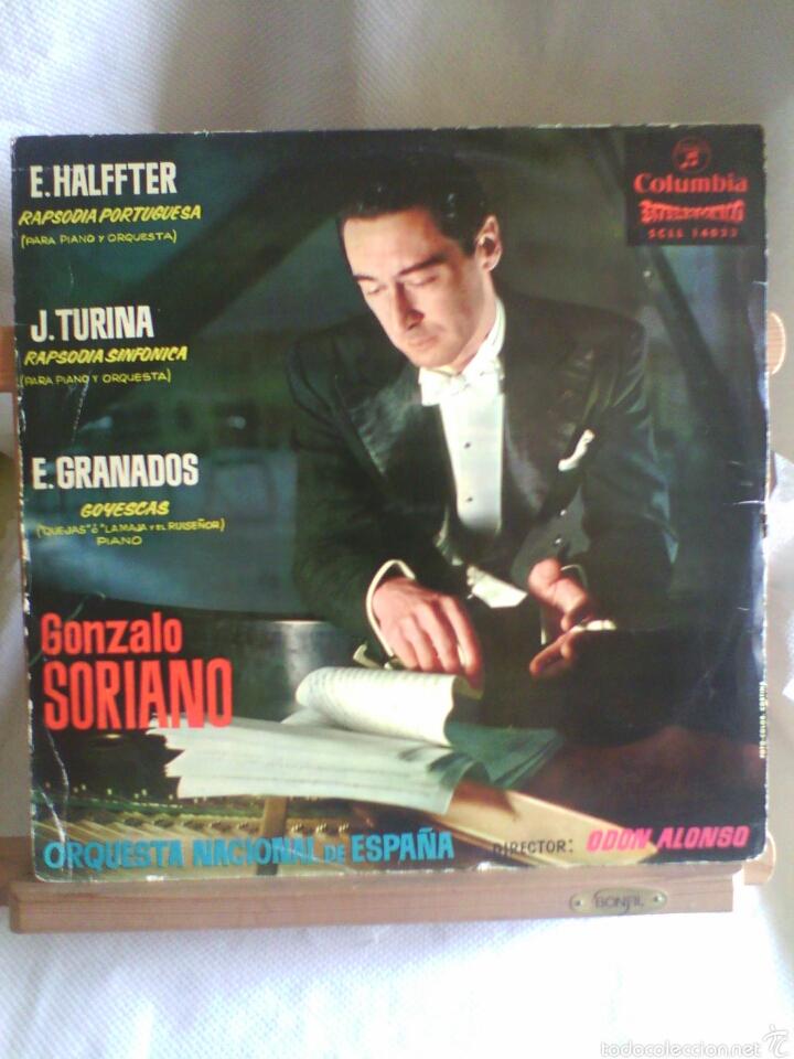 LOTE 3 DISCOS DE VINILO MÚSICA CLÁSICA ESPAÑOLA (ALBENIZ, GRANADOS, DE FALLA...). (Música - Discos - LP Vinilo - Clásica, Ópera, Zarzuela y Marchas)