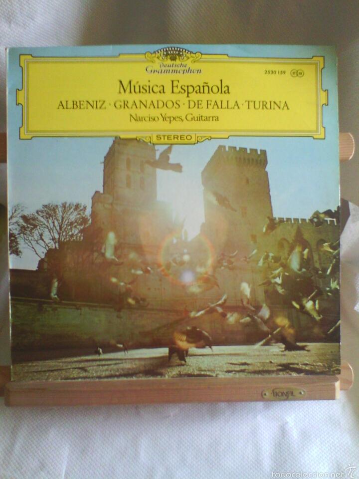 Discos de vinilo: Lote 3 Discos de Vinilo MÚSICA CLÁSICA ESPAÑOLA (Albeniz, Granados, De Falla...). - Foto 3 - 56031630