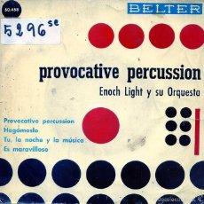 Dischi in vinile: ENOCH LIGHT (PROVOCATIVE PERCUSSION) / ES MARAVILLOSO + 3 (EP 1961). Lote 56033245