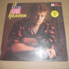 Discos de vinilo: BRYAN ADAMS (MX) HEAVEN +3 TRACKS AÑO 1985 - INCLUYE LA CANCION DIANA QUE NO FIGURA EN NINGUN LP. Lote 196293412