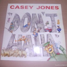 Discos de vinilo: CASEY JONES (MX) DON'T HA HA +1 TRACK AÑO 1990. Lote 56035339